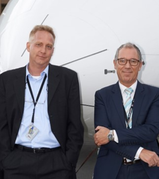 Martin Muehlmeyer CEO , Volker Lemke CSO